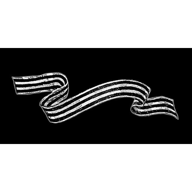георгиевская лента черно белая картинка среднем
